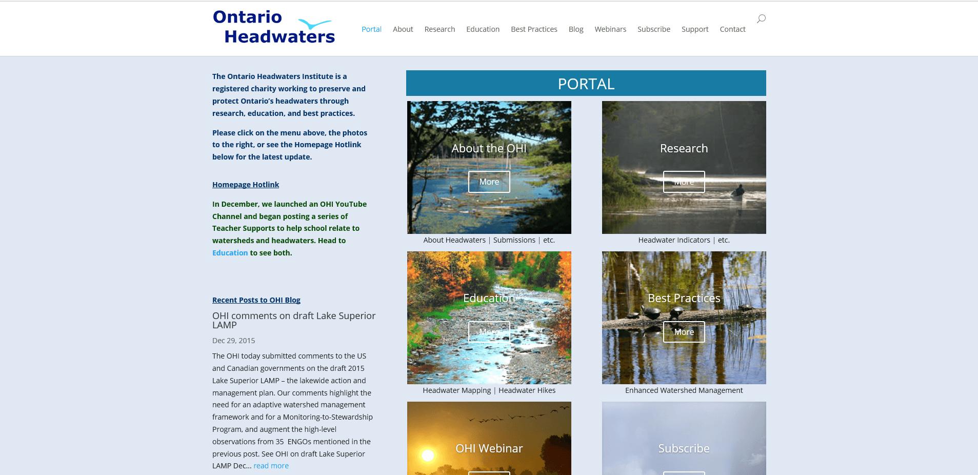 Ontario Headwaters Institute
